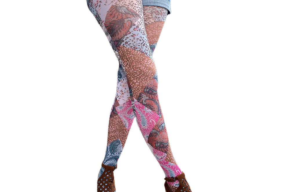 Paisley Chic Tights for Women