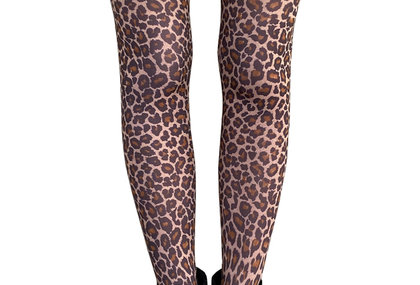 Leopard Tights for Women