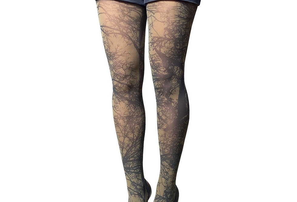 Green Trees Tights for Women