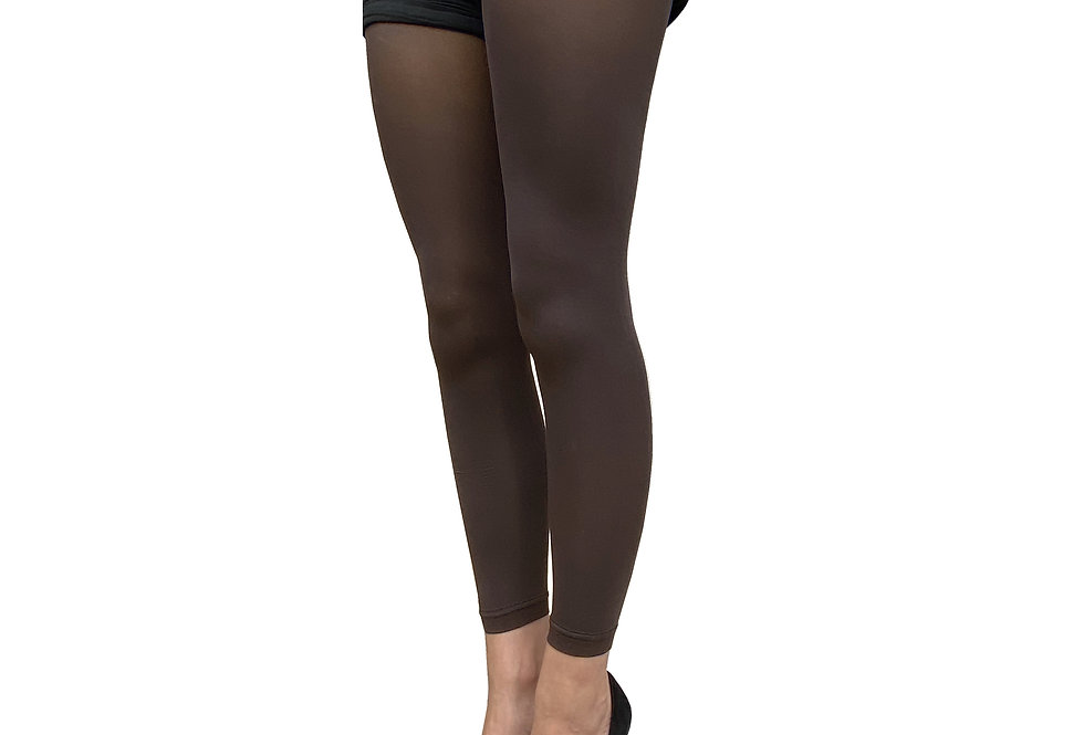 Brown Footless Tights