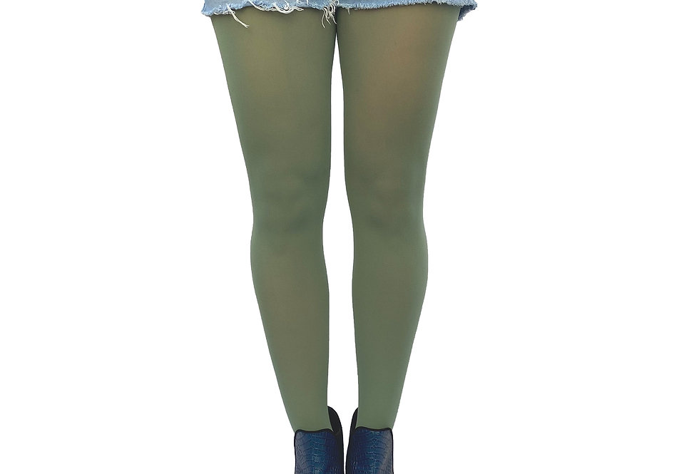 Green Tights Plus Size for Women