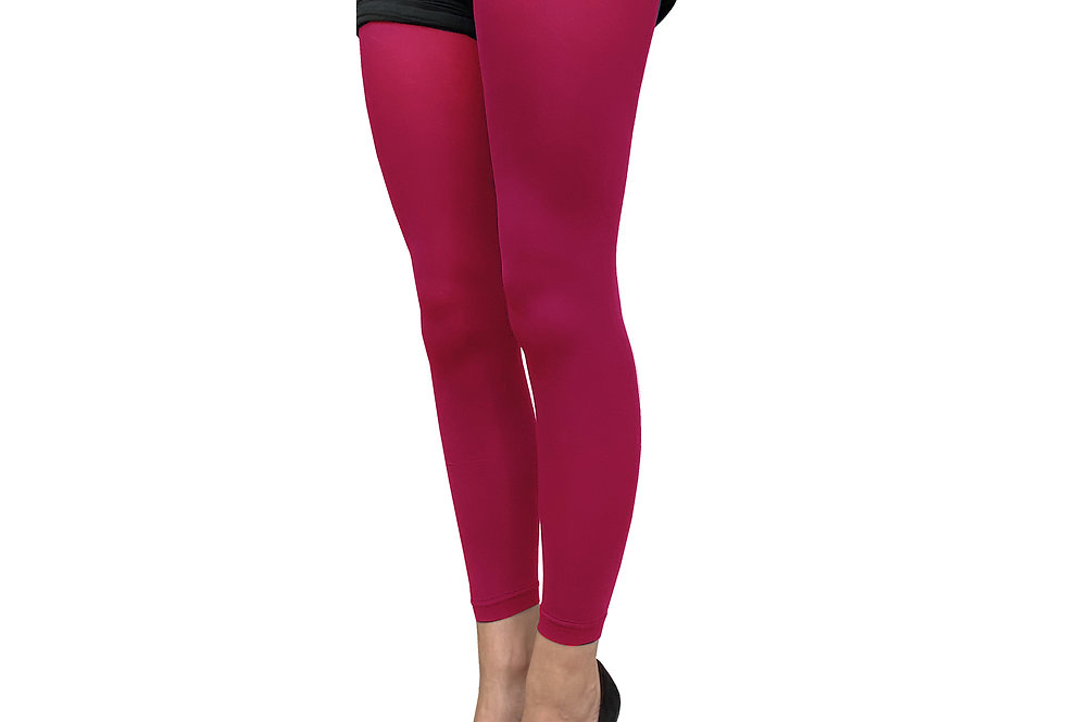 Cherry Pink Footless Tights