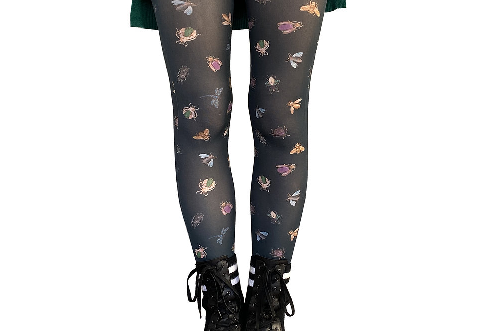Patterned Tights Bugs for women