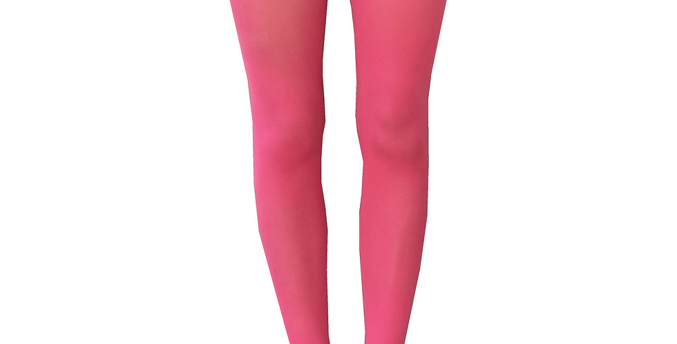 Plus Size Tights coral Pink for Women available from XL to 5XL