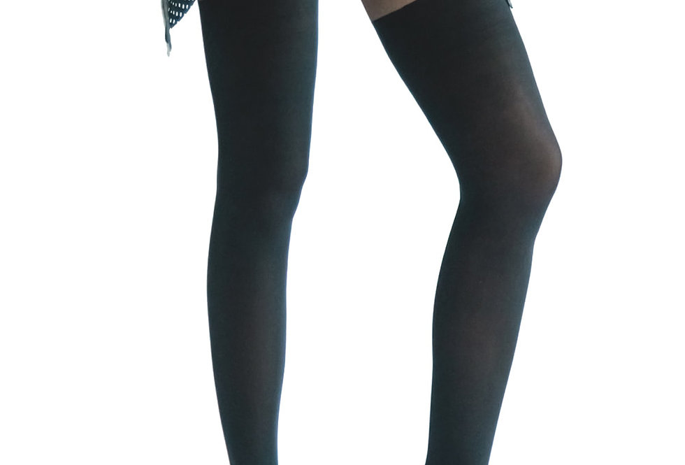 Black Illusion Thigh High for Women