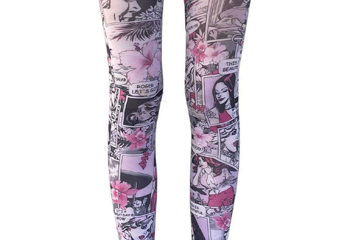 Pink Patterned Tights Comics for all Women