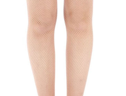 Light Nude Fishnet Tights for All Women