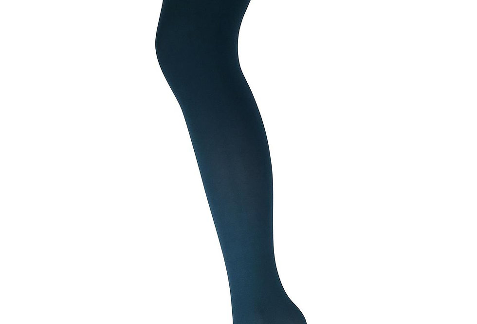 Dark Teal Opaque Full Footed Tights 80 D for all Women