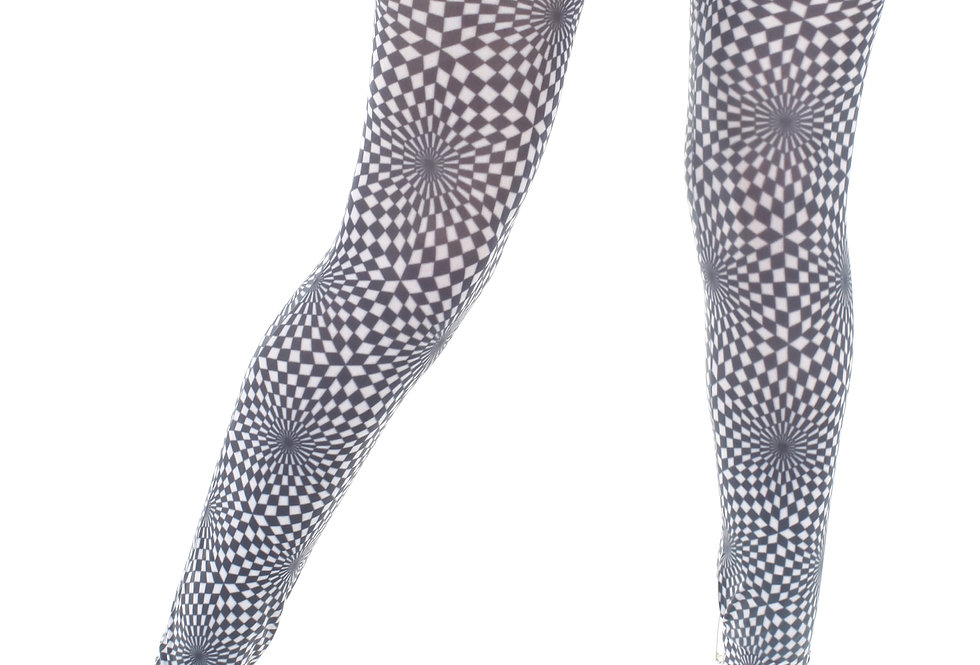 Illusion Footless Tights for Women