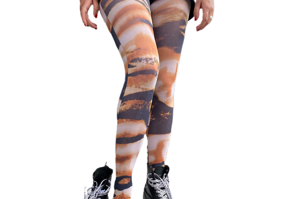 Wild Tiger Tights for Women Malka Chic
