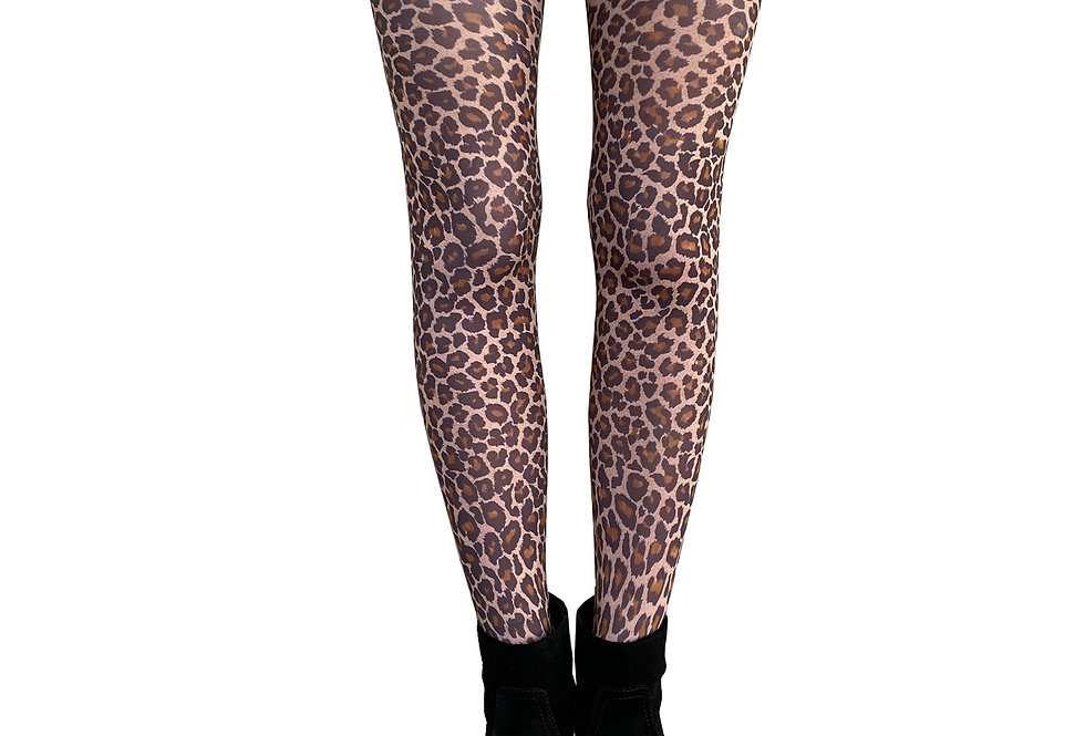 Leopard Tights for Women Malka Chic