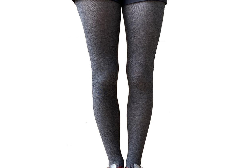 Gray Winter Tights for Women