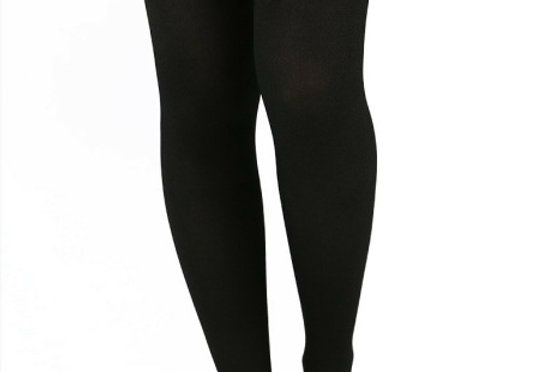 Black Cat Illusion Thigh High for Women