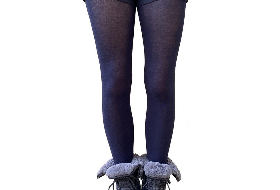 Navy Blue Winter tights for Women