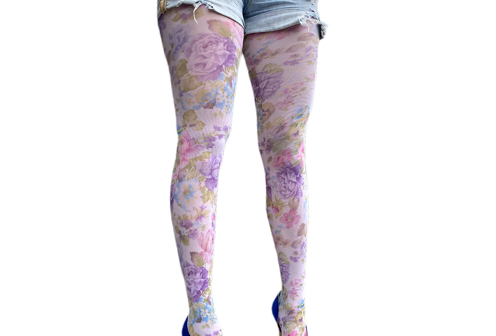 Spring Floral Tights for all Women Malka Chic