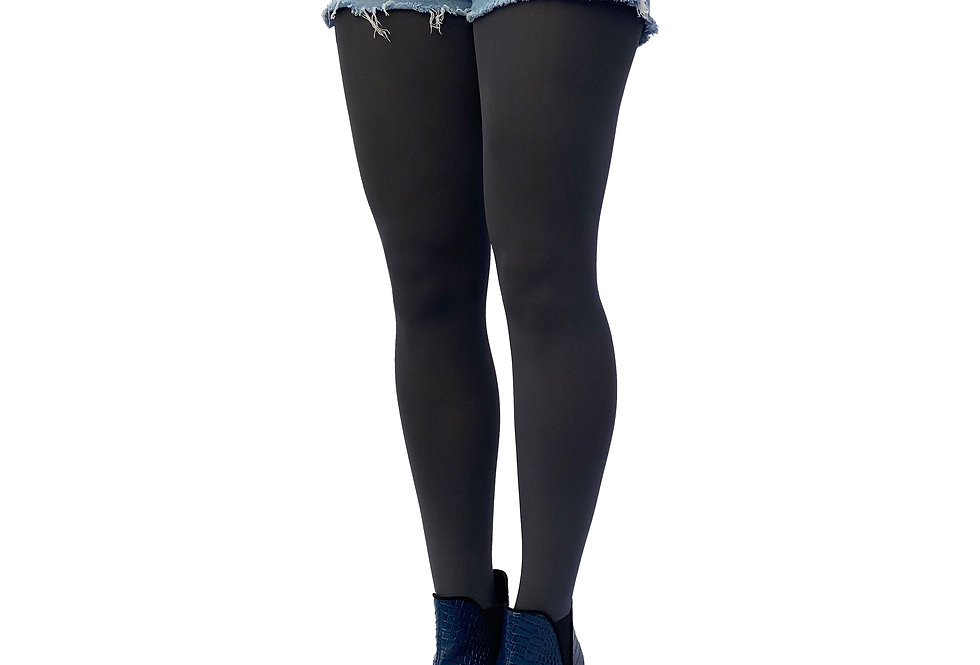 Dark Gray Opaque Tights 80 D for Women