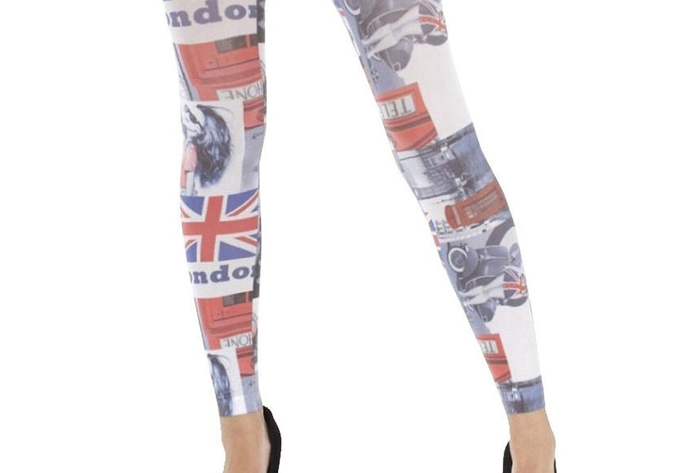 London Footless Tights for Women Malka Chic