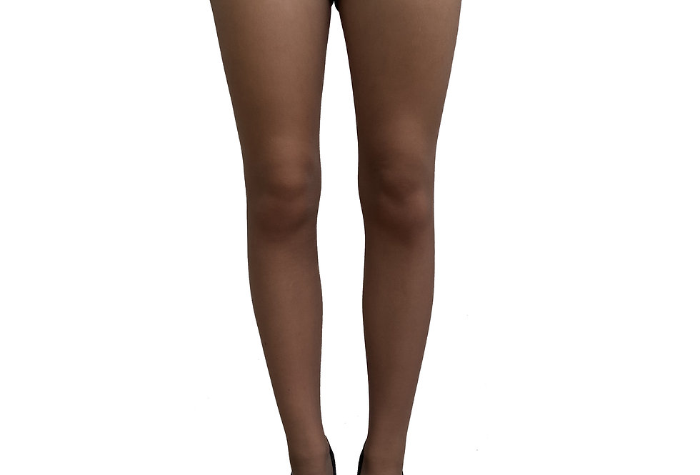 Sheer tights Dark nude for women