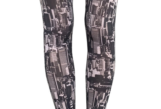 New York Footless Tights for Women