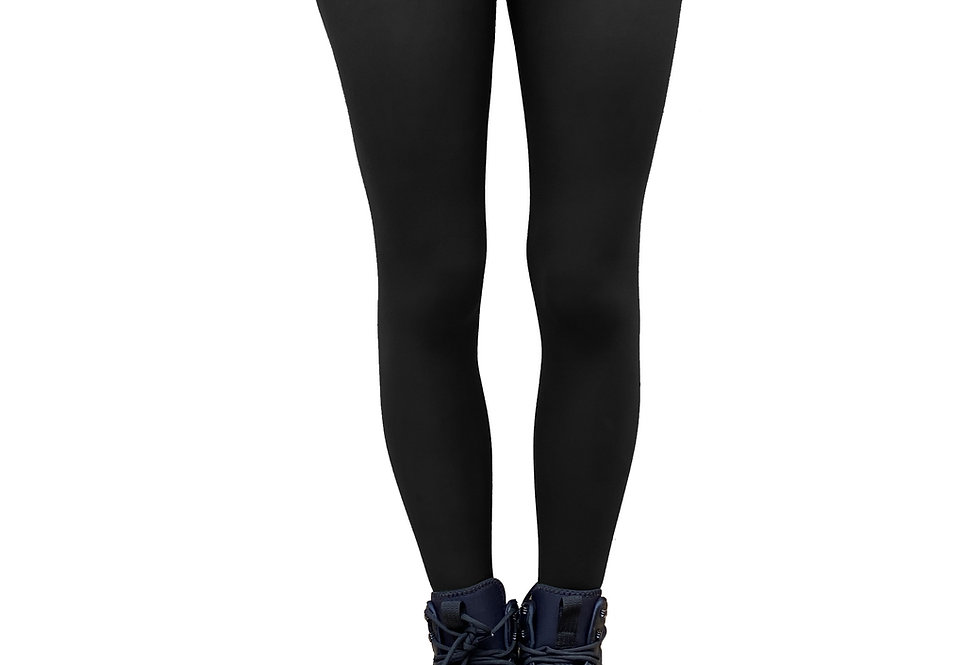 Black Opaque Tights Plus Size for Women