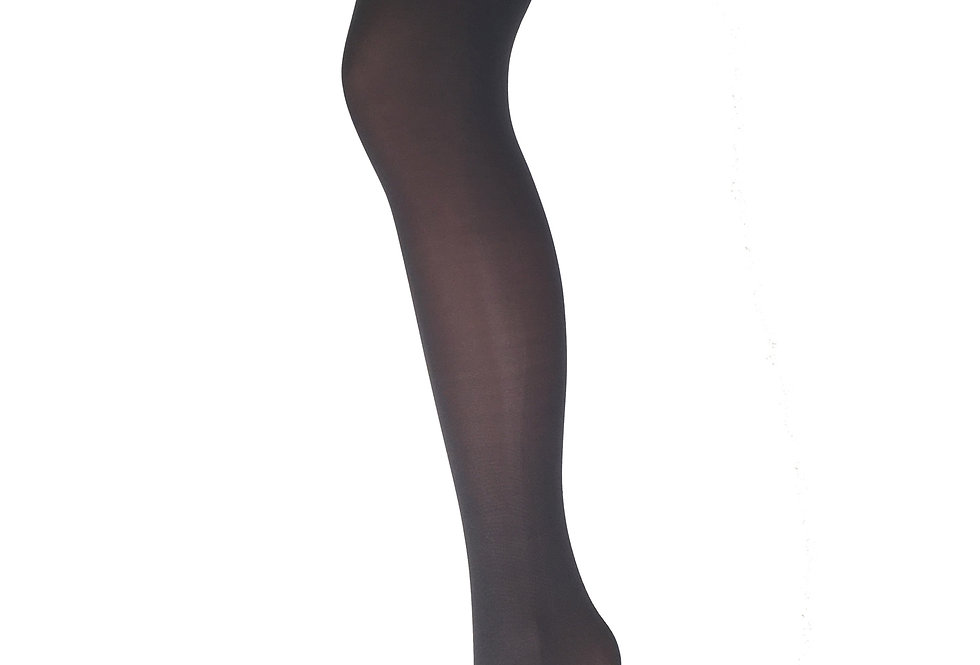 Dark Gray Opaque Tights for All Women