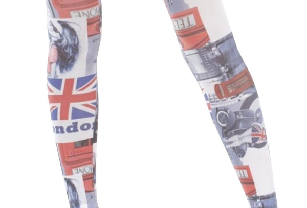 London Footless Tights for Women