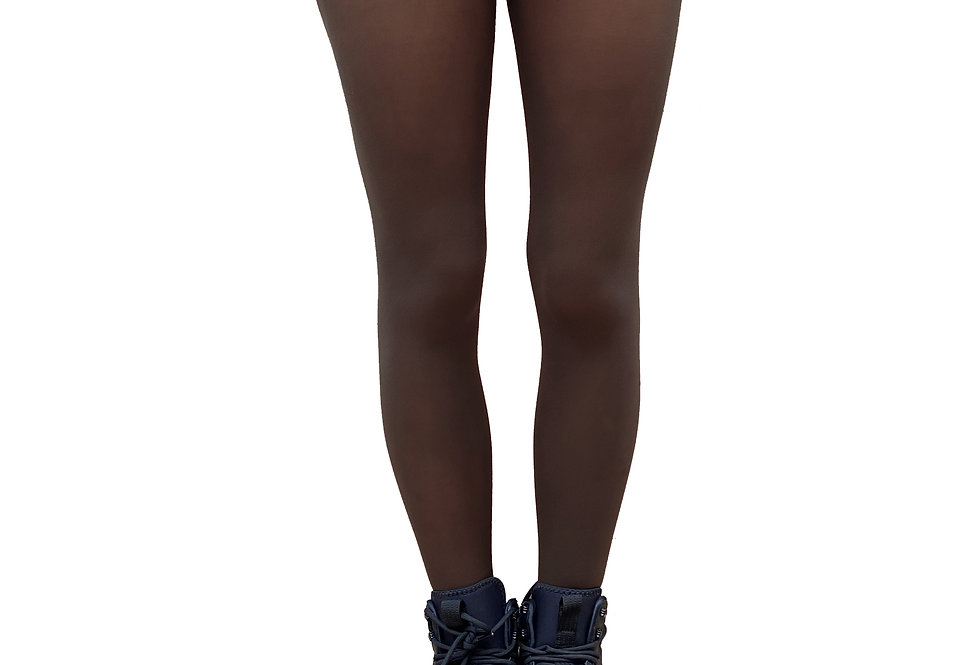 Brown Opaque Tights for Women