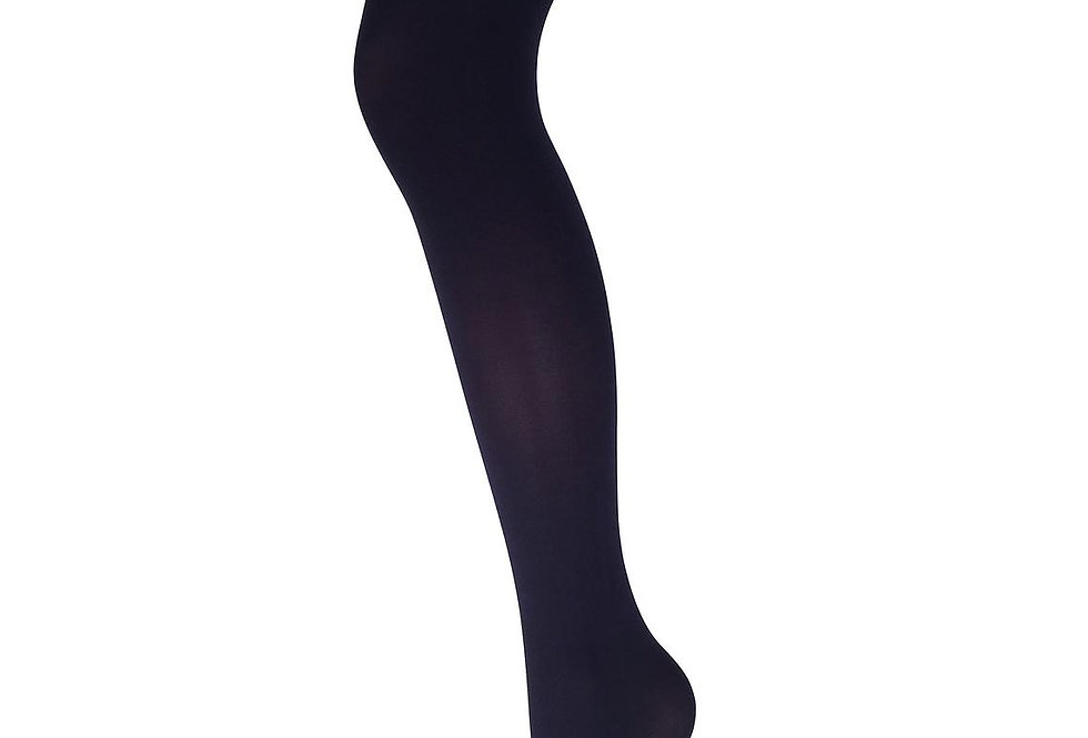 Navy Blue Opaque Full Footed Tights 90 D for all Women