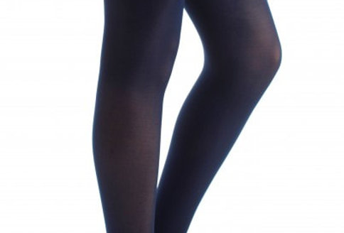 Navy Tights Plus Size for Women