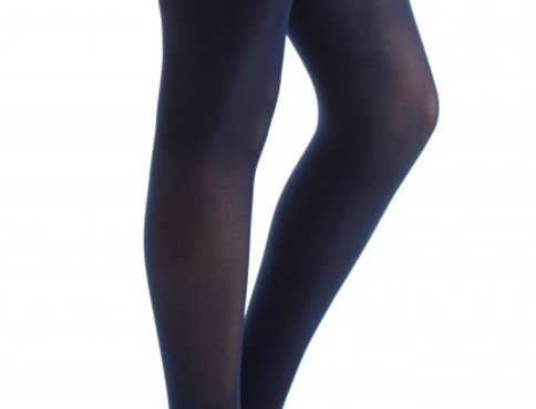 Plus Size Tights Navy Blue for Women
