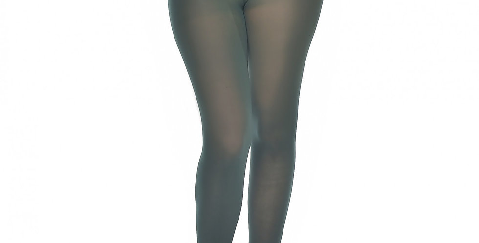 Plus Size Tights Forest green for Women available from XL to 5XL