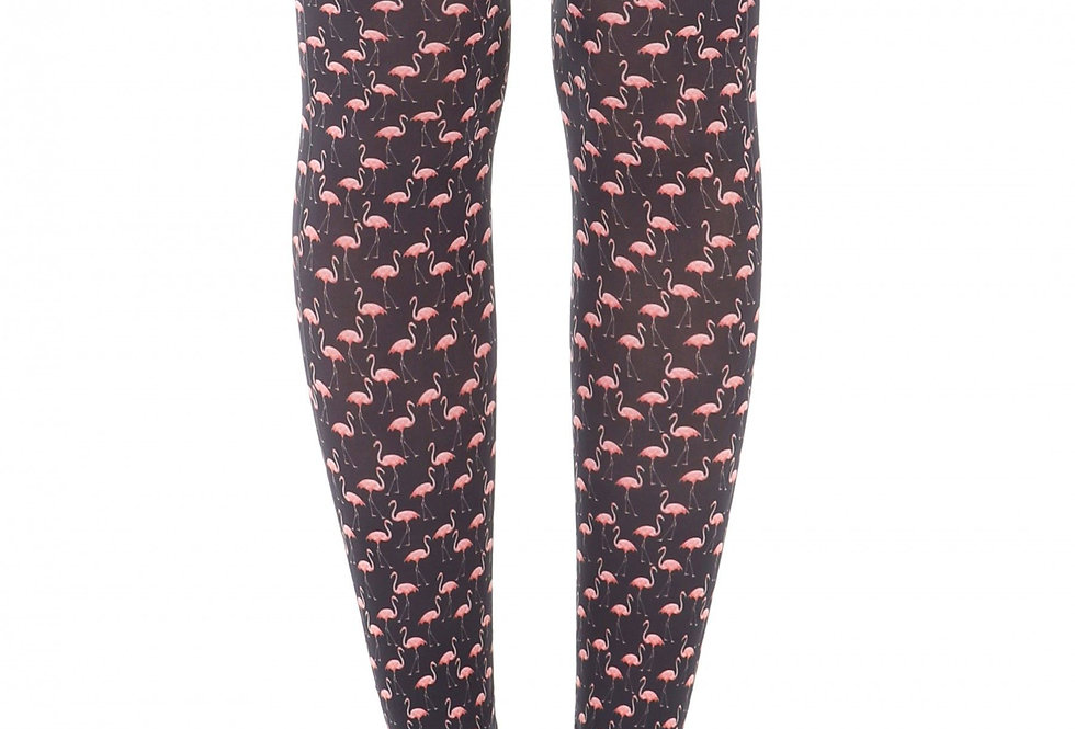 Flamingo Footless Tights for Women