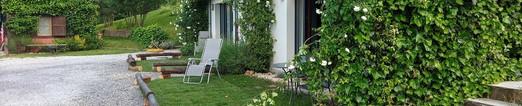 Aree verdi riservate camere  Pallet e larice