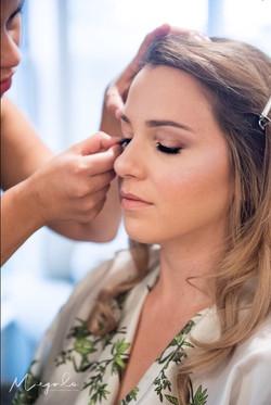 Natural bride's Makeup