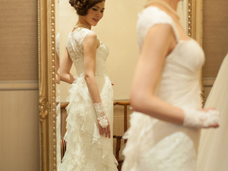 KURAWAN WEDDING日比谷花壇 パンフレット撮影ヘアメイク