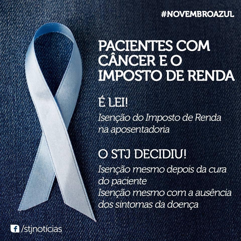 Isenção de Imposto de Renda para pacientes com câncer | Advogado de Direito Civil - Advogado Marcelo Fidalgo