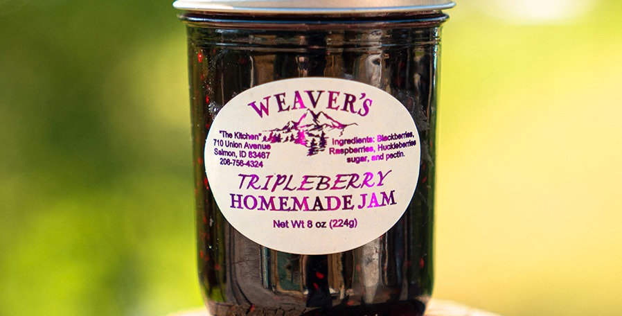 Tripleberry Homemade Jam
