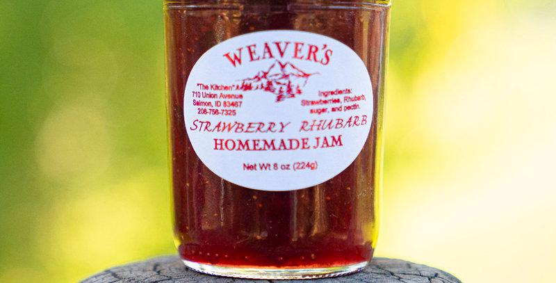 Strawberry Rhubarb Homemade Jam
