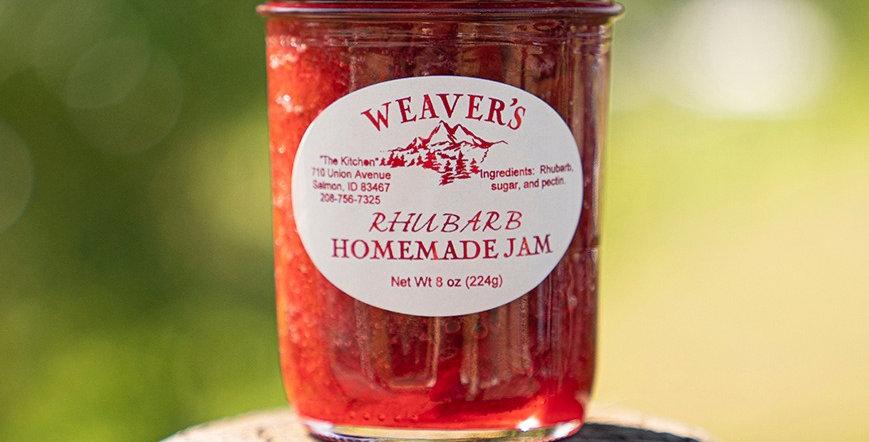 Rhubarb Homemade Jam