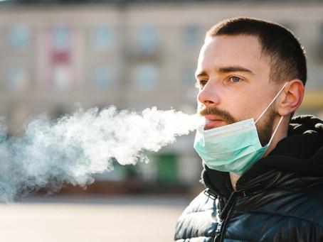 Fumadores correm mais risco de vida com o coronavírus