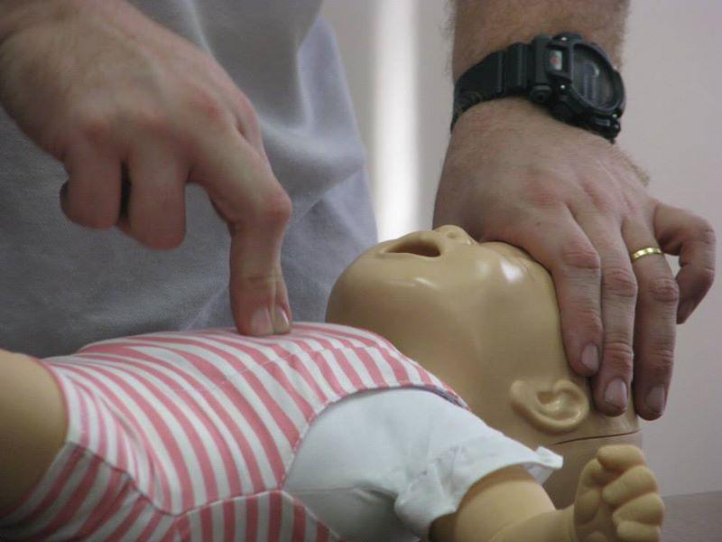 RCP em bebês