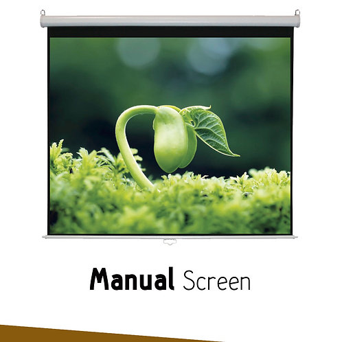 "Manual Simple Screen 84""x84"""