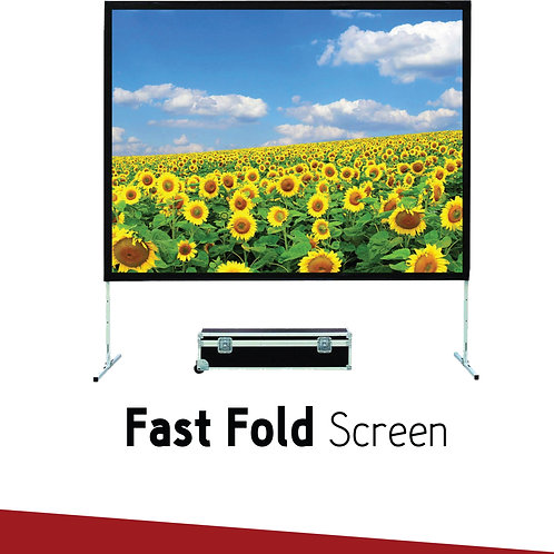 FAST FOLD SIMPLE SCREEN 100""
