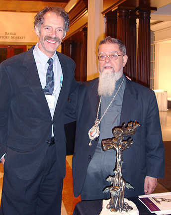 Fr. Chacour &Holmes Sculpture