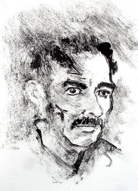 Self Portrait as a Lunatic