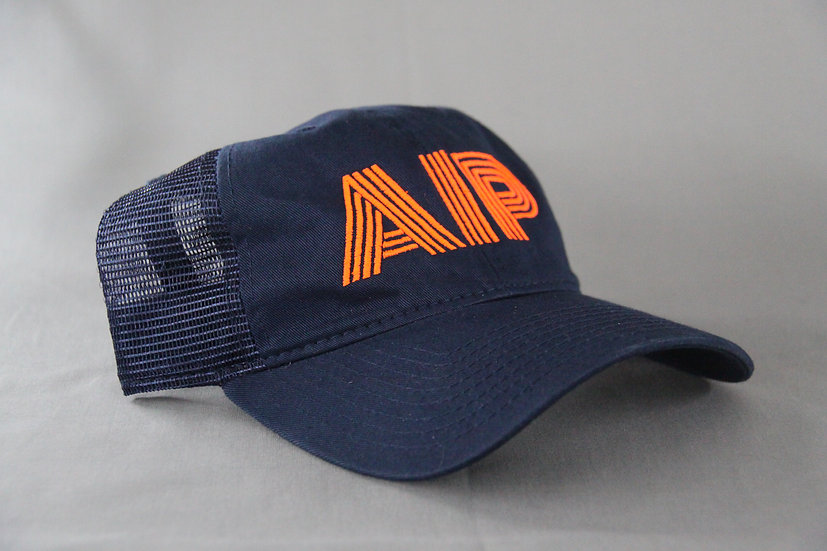 Blue curved AIP