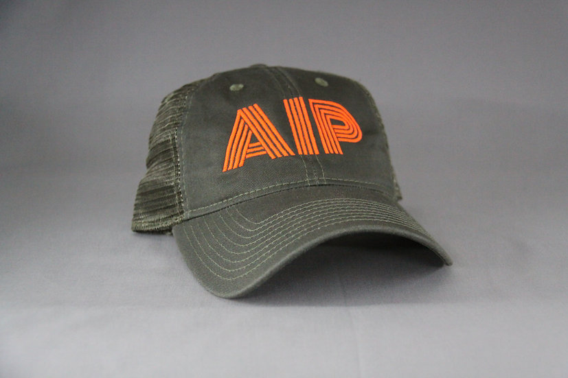 Green curved flo orange AIP
