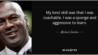 Be Coachable (Originally Published May 16, 2008)