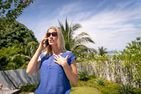 Lynsey Vinen - Lifestyle Lyns Blue Top O
