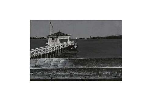Original - Acrylbild 60x40 cm - Kiellinie